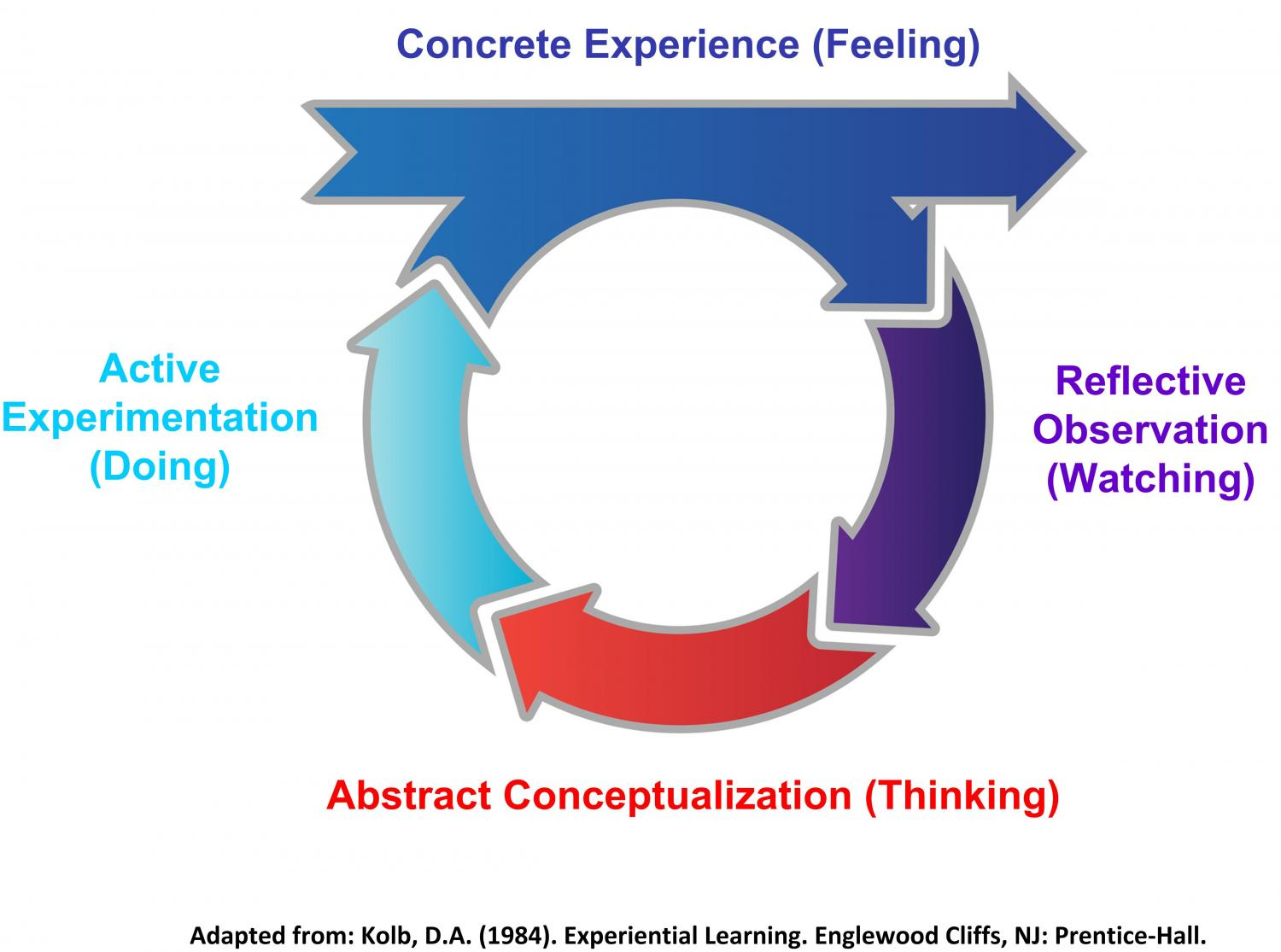 David Kolb's Model of Adult Learning